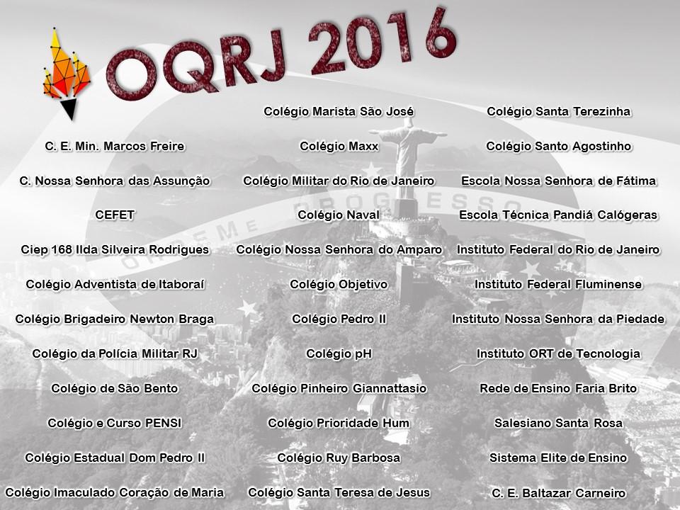 oqrj colegios 2016